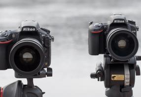 Test Nikon D750 mot Nikon D810